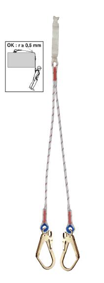 LDAD Dubbele Vallijn Van Kernmanteltouw 11mm Zonder Valdemper